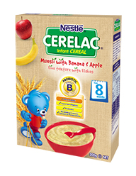 :Nestlé CERELAC Muesli with Banana & Apple