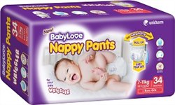 BabyLove Wriggler Nappy Pants