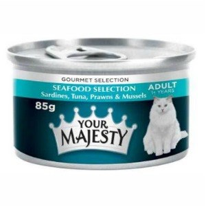 Your Majesty cat food