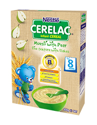Nestlé CERELAC Infant cereal Muesli Pear