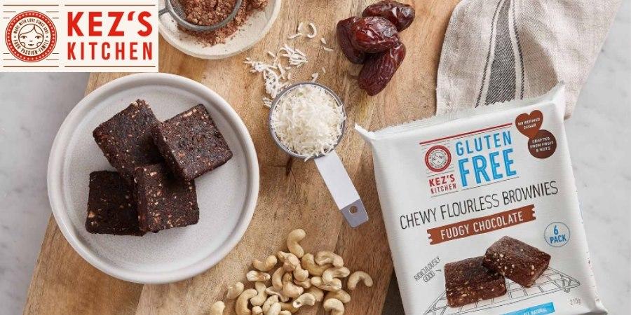 Kez's Kitchen Chewy Flourless Brownies